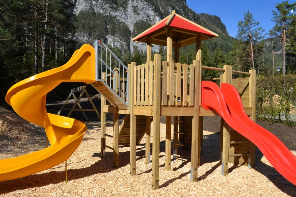 Rasten mit Kindern am Fernpass