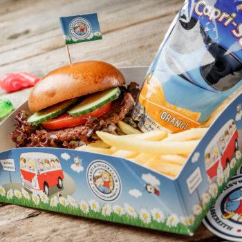 Kinder Burger Menü Restaurant Fernpass