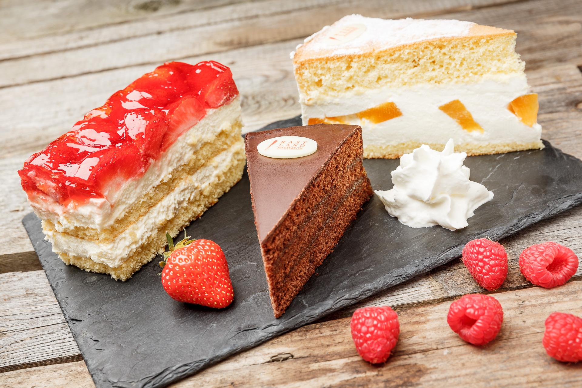 Torten und Kuchen zum mitnehmen
